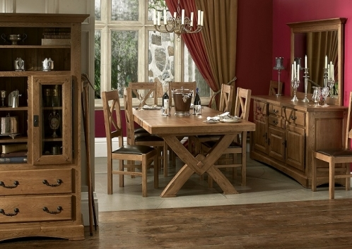 Chateau Solid Oak Dining and Living Room Furniture