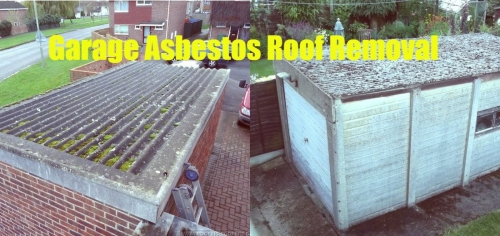 Garage Roof Asbestos Removal