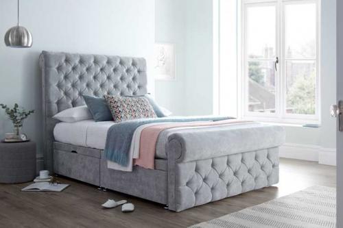 Love Sleep Palermo Divan Ottoman Bed