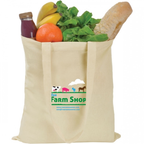 Promotional Cotton Shopper