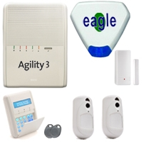 Risco Agility 3 video verification alarm system