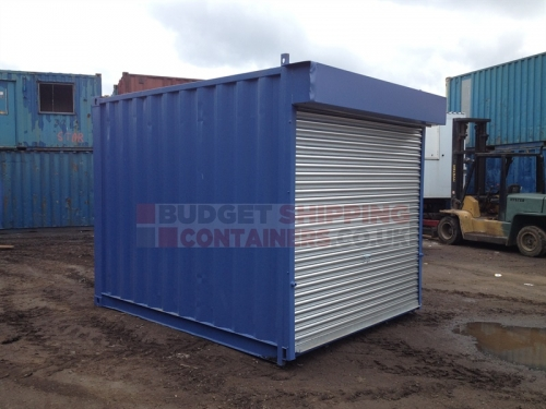 10ft Roller Shutter Containers