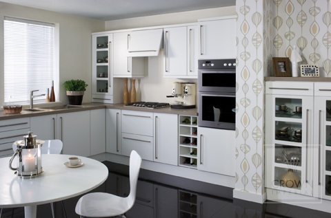 Milano - Classic, chic white kitchen