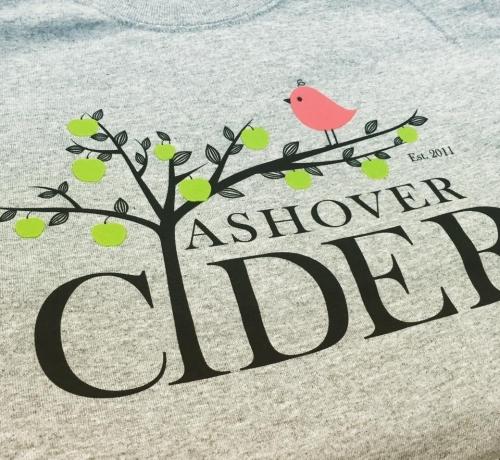 Ashover Cider Screen Print