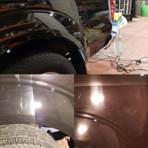 The stages of paint correction