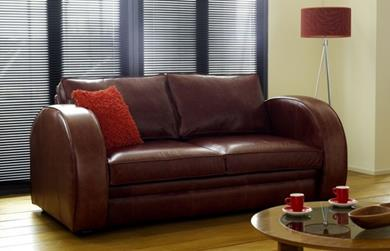 Astoria Leather Sofa