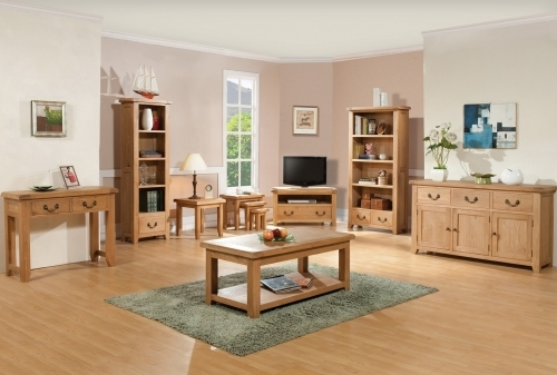Buttermere Light Oak Dining and Living Room Furniture