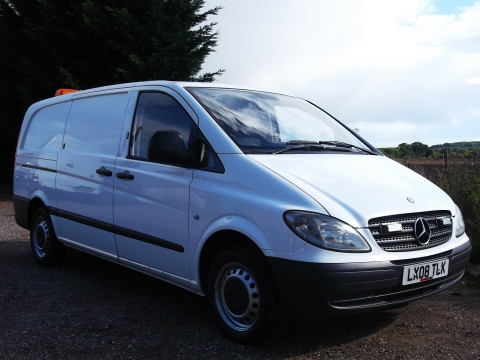 2008/08 Mercedes-Benz Vito 111CDi LWB Panel Vans - Full Mobile Workshops Fitted