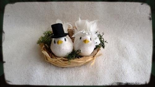 Love Birds Wedding Cake Toppers Kent