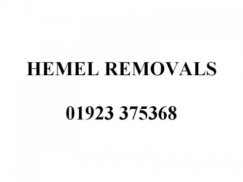 Hemel Removals Sign
