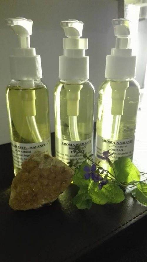Aroma Namaste Massage Oils