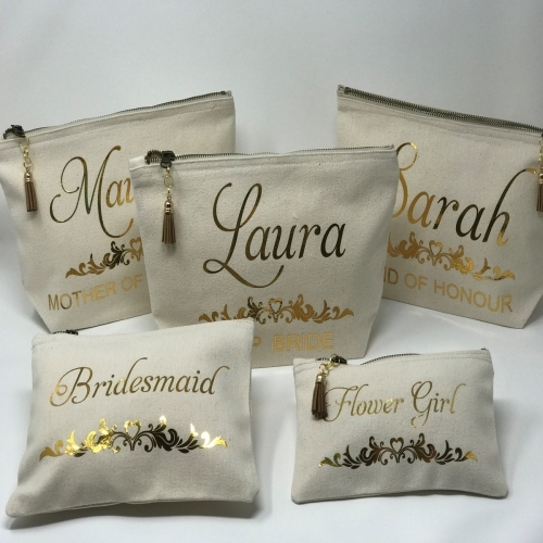 Personalised Make Up Bags UK