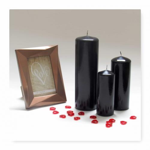 Pillar Candles Black