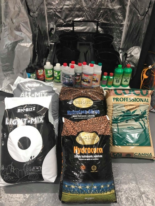 Hydroponic Supplies & Nutrients