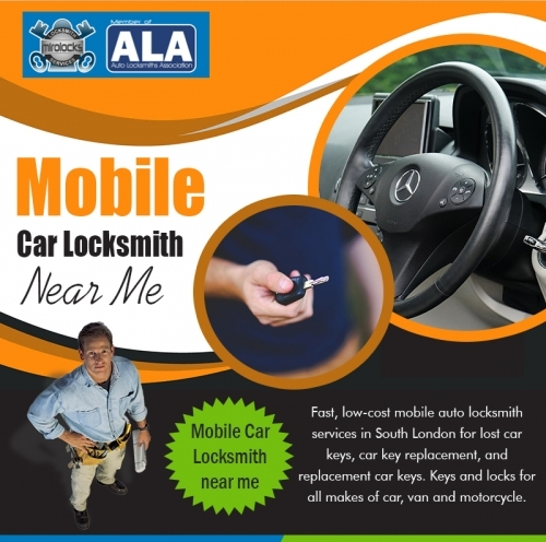 Mobile Car Locksmith Near Me
